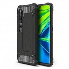 """Apsauginis dėklas Pc plastikas ir TPU """"Hybrid Armor Tough Rugged"""" Xiaomi Mi Note 10 / Mi Note 10 Pro / Mi CC9 Pro juodas (goe85) UCS103"""