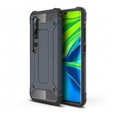 """Apsauginis dėklas Pc plastikas ir TPU """"Hybrid Armor Tough Rugged"""" Xiaomi Mi Note 10 / Mi Note 10 Pro / Mi CC9 Pro mėlynas (goe85) UCS103"""