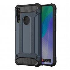 Hybrid Armor Case tvirtas dėklas Huawei Y6p mėlynas