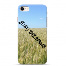 Iphone Se 2020 Tpu Dėklas Nugarėlė Su Jūsų Dizainu. Dėklas Gaminamas Su Jūsų Pateikta Nuotrauka