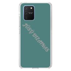 Samsung Galaxy S10 Lite Tpu Dėklas Nugarėlė Su Jūsų Dizainu. Dėklas Gaminamas Su Jūsų Pateikta Nuotrauka