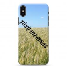 Iphone X/Xs Tpu Dėklas Nugarėlė Su Jūsų Dizainu. Dėklas Gaminamas Su Jūsų Pateikta Nuotrauka
