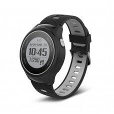 Išmanusis laikrodis Forever SW-600 juodas-pilkas