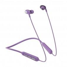 Joyroom JR-D5 Vandeniui Atsparios Belaidės Ausinės IPX5 Sports Wireless Bluetooth 5.0 Violetinės (JR-D5)