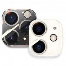 Kameros stiklas Joyroom Mirror Series full lens protector camera tempered glass iPhone 12 Pro permatoma (JR-PF729)