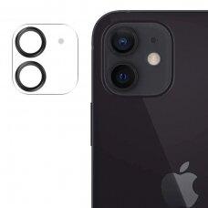 Joyroom Shining Series apsauginis kameros stiklas iPhone 12 Juodas (JR-PF687)