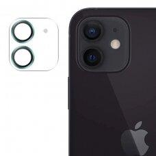 Joyroom Shining Series apsauginis kameros stiklas iPhone 12 Žalias (JR-PF687)