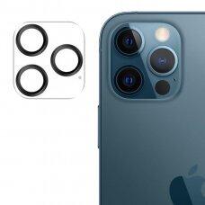 Kameros stikliukas Joyroom Shining Series full lens protector camera iPhone 12 Pro Juodas (JR-PF688)