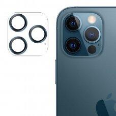 Apsauginis kameros stiklas Joyroom Shining Series full lens protector camera iPhone 12 Pro Max Mėlynas (JR-PF689)