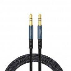 Joyroom stereo audio AUX Kabelis 3,5 mm 2 m Tamsiai Mėlynas (SY-20A1)