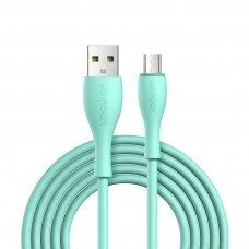Joyroom USB - micro USB Kabelis 2,4 A 1 m Žalias (S-1030M8)