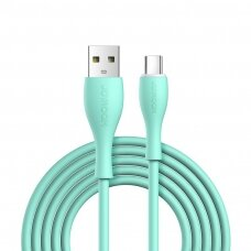Joyroom USB - USB Type C Kabelis 3 A 1 m Žalias (S-1030M8)