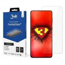 LCD apsauginė plėvelė 3MK Flexible Glass Samsung G991 S21