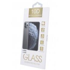 LCD apsauginis stikliukas 10D Full Glue Samsung A325 A32 4G lenktas juodas