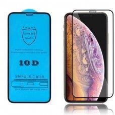 Lcd Apsauginis Stikliukas 10D Full Glue Samsung A51 A515/S20 Fe Lenktas Juodas