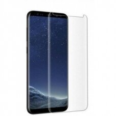 LCD apsauginis stikliukas 3D Perfectionists Samsung G955 S8 Plus lenktas skaidrus UCS009