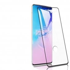 LCD apsauginis stikliukas 3D Perfectionists Samsung G988 S20 Ultra/S11 Plus lenktas juodas UCA001