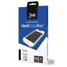LCD apsauginis stikliukas 3MK Hard Glass Max Samsung A715 A71 juodas