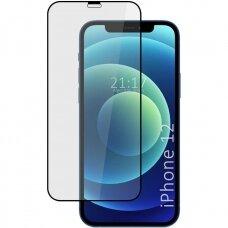 Lcd Apsauginis Stikliukas 5D Cold Carving Apple Iphone 12/12 Pro Juodas