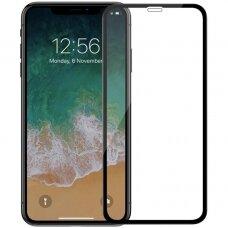 LCD apsauginis stikliukas 5D Cold Carving Apple iPhone X/XS/11 Pro juodas USC060
