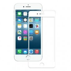 Lcd Apsauginis Stikliukas 5D Full Glue Apple Iphone 6/6S Juodais Kraštais