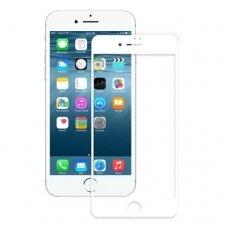 LCD apsauginis stikliukas 5D Full Glue Apple iPhone 7/8/SE2 baltais kraštais UCS062