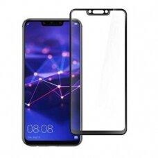 Lcd Apsauginis Stikliukas 5D Full Glue Huawei Mate 20 Lite Lenktas Juodas
