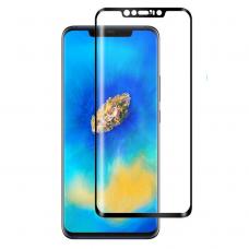 Lcd Apsauginis Stikliukas 5D Full Glue Huawei Mate 20 Pro Lenktas Juodas