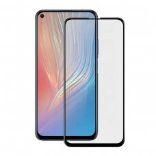 Lcd Apsauginis Stikliukas 5D Full Glue Huawei Nova 5T/Honor 20 Lenktas Juodas