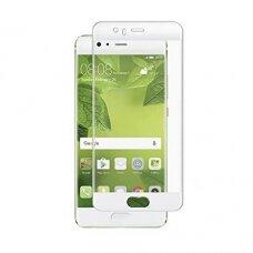 Lcd Apsauginis Stikliukas 5D Full Glue Huawei P10 Lenktas Baltas