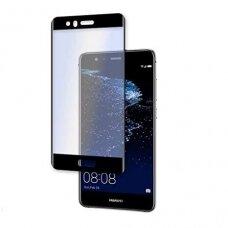 Lcd Apsauginis Stikliukas 5D Full Glue Huawei P10 Lenktas Juodas