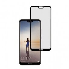 Lcd Apsauginis Stikliukas 5D Full Glue Huawei P20 Pro/P20 Plus Lenktas Juodas