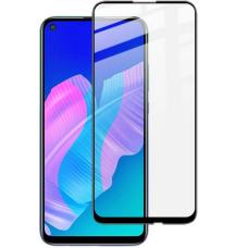 LCD apsauginis stikliukas 5D Full Glue Huawei P40 Lite/P20 Lite 2019 lenktas juodais kraštais UCS068