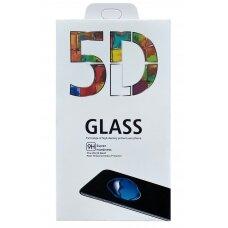 LCD apsauginis stikliukas 5D Full Glue Samsung A225 A22 4G lenktas juodas