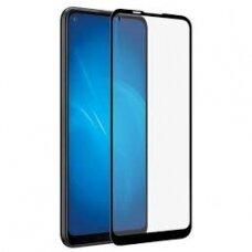 Lcd Apsauginis Stikliukas 5D Full Glue Samsung A705 A70 Lenktas Juodas