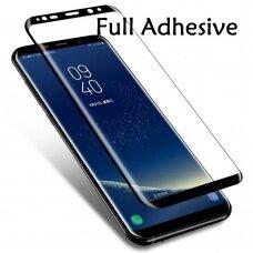 Lcd Apsauginis Stikliukas 5D Full Glue Samsung G950 S8 Lenktas Juodas