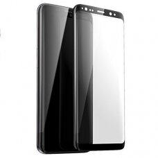 Lcd Apsauginis Stikliukas 5D Full Glue Samsung G960 S9 Lenktas Juodas