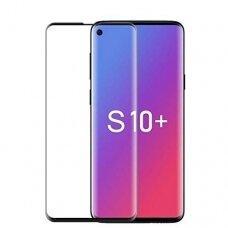 Lcd Apsauginis Stikliukas 5D Full Glue Samsung G975 S10 Plus Lenktas Juodas Be Išpjovimo