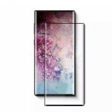 Lcd Apsauginis Stikliukas 5D Full Glue Samsung N970 Note 10 Lenktas Juodas Be Išpjovimo