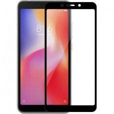 Lcd Apsauginis Stikliukas 5D Full Glue Xiaomi Redmi Note 5/ Note 5 Pro Lenktas Juodas