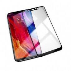 Lcd Apsauginis Stikliukas 5D Full Glue Xiaomi Redmi Note 6/ Note 6 Pro Lenktas Juodas