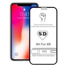 Lcd Apsauginis Stikliukas 5D Perfectionists Apple Iphone Xr/11 Lenktas Juodas