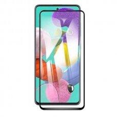 LCD apsauginis stikliukas 5D Perfectionists Samsung A515 A51 lenktas juodas UCS025