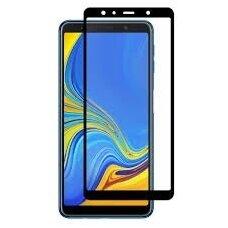 LCD apsauginis stikliukas 5D Perfectionists Samsung A750 A7 2018 lenktas juodas UCS037