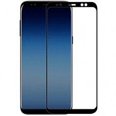 LCD apsauginis stikliukas 5D Special Edition Samsung A920 A9 2018 lenktas juodas UCS035
