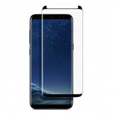 Lcd Apsauginis Stikliukas 9D Curved Full Glue Samsung G950 S8 Juodas