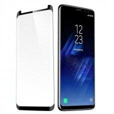 Lcd Apsauginis Stikliukas 9D Curved Full Glue Samsung G960 S9 Juodas