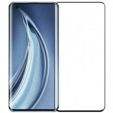 LCD apsauginis stikliukas 9D Curved Full Glue Xiaomi Mi 10 Pro juodais kraštais  UCS106