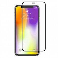 Lcd Apsauginis Stikliukas 9D Full Glue Apple Iphone 12/12 Pro Juodas