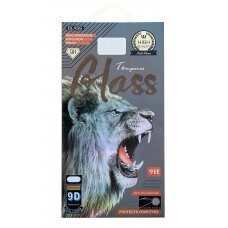 LCD apsauginis stikliukas 9D Full Glue Apple iPhone 6/6S baltas UCS064